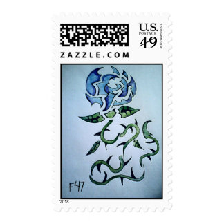 Floor 47 Order of the Blue Rose stamp