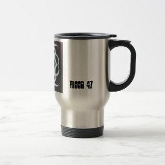 Floor 47 tribal travel mug