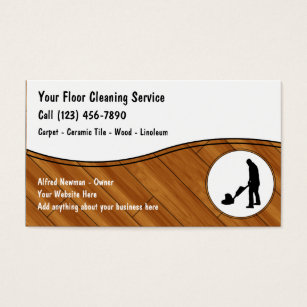 Flooring Business Card Sasolonafora