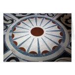 Floor Designs-Basilica di Santa Maria del Fiore Greeting Card