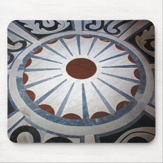 Floor Designs-Basilica di Santa Maria del Fiore Mouse Pad