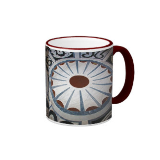 Floor Designs-Basilica di Santa Maria del Fiore Ringer Coffee Mug
