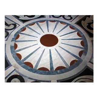 Floor Designs-Basilica di Santa Maria del Fiore Postcard