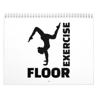 Floor exercise calendar