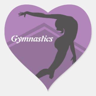Floor Exercise Gymnastics Sticker
