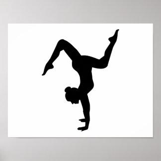 Floor exercises poster