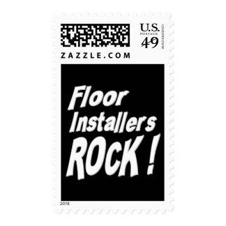 Floor Installers Rock ! Postage Stamp