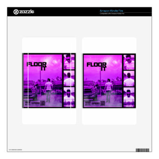 Floor It Cover Kindle Fire Decal
