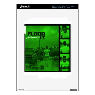 Floor It Instrumentals Cover iPad 3 Skins