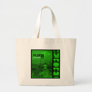 Floor It Instrumentals Cover Large Tote Bag