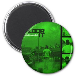 Floor It Instrumentals Cover Magnet