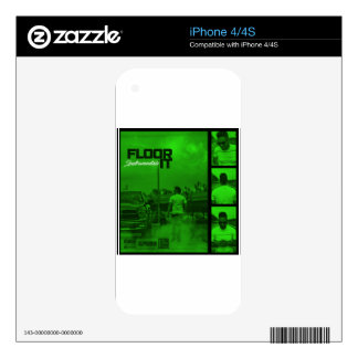 Floor It Instrumentals Cover Skin For The iPhone 4