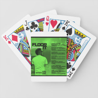 Floor It Instrumentals Reverse Bicycle Playing Cards