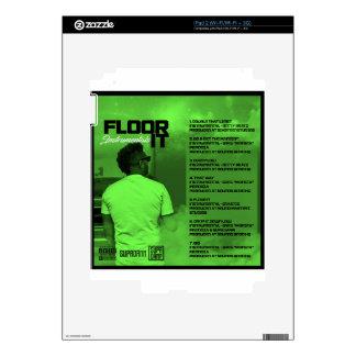 Floor It Instrumentals Reverse Skin For The iPad 2