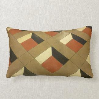 Floor Optical Illusion pattern tiles Las Vegas pho Pillow