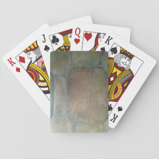 Floor Pattern Playing Cards