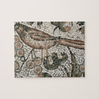 Floor pavement depicting a bird, 4th century AD (m Jigsaw Puzzle