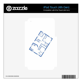 Floor Plan Skin For iPod Touch 4G