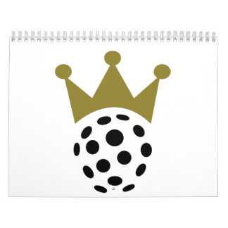 Floorball champion crown calendar