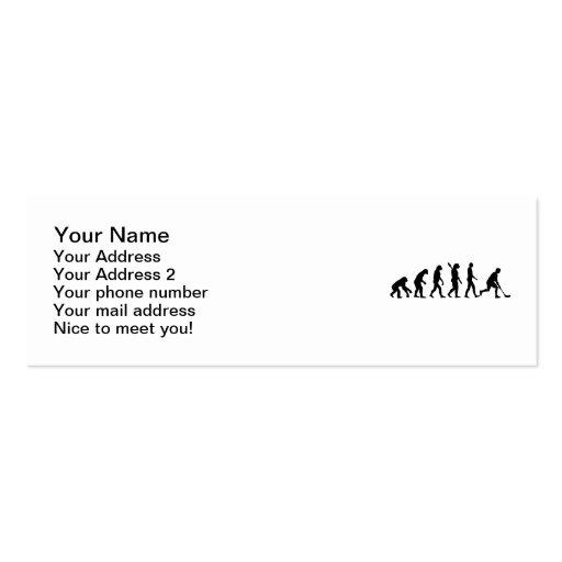 Floorball Evolution Business Cards