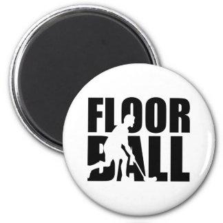 Floorball Magnet