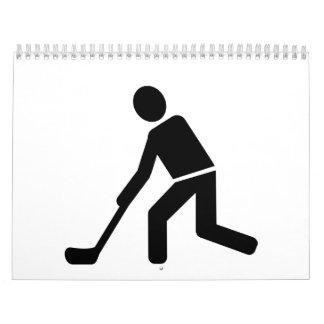 Floorball Player Calendar