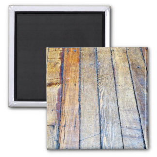 Floorboards 2 Inch Square Magnet