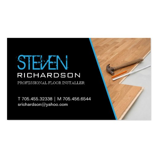 FLOORING BUSINESS CARD