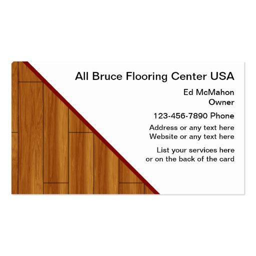 Wood flooring business card templates page2 bizcardstudio flooring business cards colourmoves