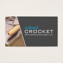 Flooring installation business cards templates zazzle colourmoves