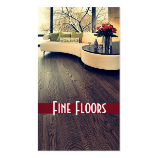 Flooring Construction Business Card