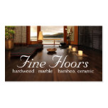 Flooring Hardwood Marble Construction Business Cards