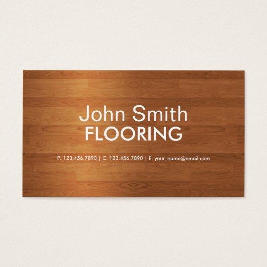 Flooring Modern Professional Plain Simple Business Card