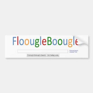 FloougleBoougle Homepage Bumper Sticker