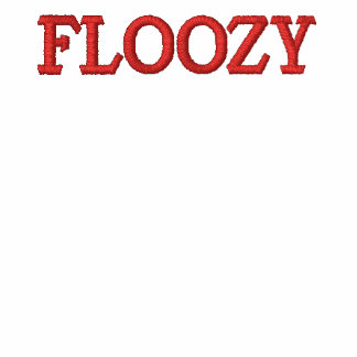 Floozy Embroidered T-shirt