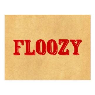 Floozy Postcard