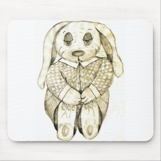 Flop Eared Bunny Mouse Pad