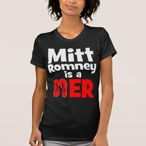 Flopper del tirón de Mitt Romney Camiseta