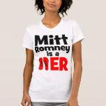 Flopper del tirón de Mitt Romney Camisetas