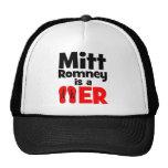 Flopper del tirón de Mitt Romney Gorro De Camionero