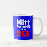 Flopper del tirón de Mitt Romney Tazas