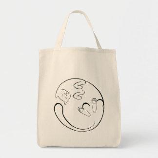 Floppy Cat Canvas Bags