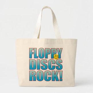 Floppy Discs Life B Large Tote Bag