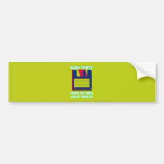 Floppy Disk! Bumper Sticker
