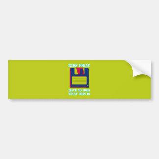 Floppy Disk! Car Bumper Sticker