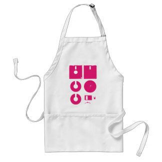 Floppy Disk Deconstructed 1.44in Adult Apron