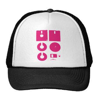 Floppy Disk Deconstructed 1 44in Trucker Hats