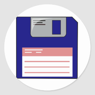 Floppy Disk Stickers