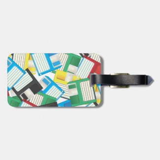 Floppy Disks Luggage Tags