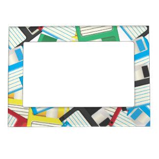 Floppy Disks Magnetic Frame